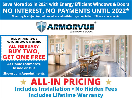 Limited Time Offer: Buy Two, Get One FREE on ALL ARMORVUE Products